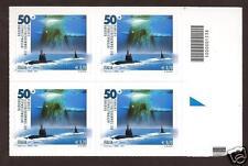 Italia Repubblica 2013 : Raduno sommergibilisti - quartina con codice a barre