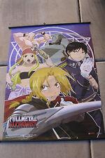 FullMetal Alchemist Brotherhood Anime Wall Banner Rare 32X43