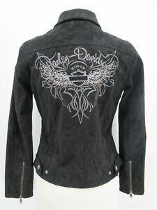 P5567 VTG Harley Davidson Women's Motorcycle Biker Jacket Size S