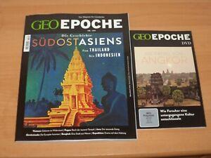 """GEO EPOCHE NR. 109 """"Die Geschichte SÜDOSTASIENS"""" + DVD 90 Minuten"""