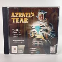 1996 Azrael's Tear CD-ROM Game for PC with Jewel Case - Mindscape - EUC!