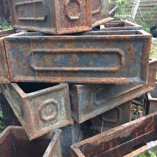 SET OF 10 - 30cm CLEARANCE Faux Lead Cast Iron Chelsea Trough Garden Planter/Pot