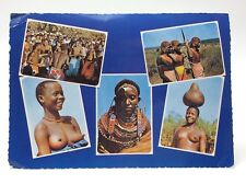 East Africa 5 Photo Set Posted Written On Postcard E477x