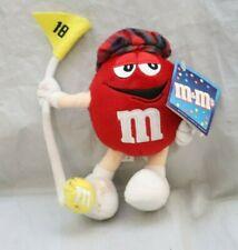 Red M&M Plush Golf Toy