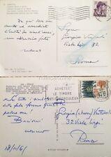 § ALESSANDRO BLASETTI - 2 CART. AUTOGRAFE AL NIPOTE GIORGIO, A ROMA