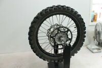 2010 YAMAHA YZ250F YZ 250F EXCEL REAR BACK WHEEL RIM WOBBLE