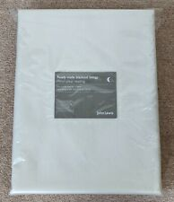 John Lewis Blackout Curtain Linings Pair   Pencil Pleat Heading   Ivory Colour