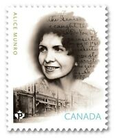 ALICE MUNRO = CANADIAN AUTHOR = Die Cut = MNH Canada 2015 Sc2850i