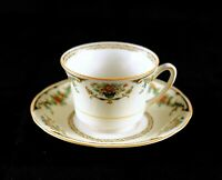 Vintage Royal Ivory Cup & Saucer, John Maddock & Sons LTD, England Ashby China