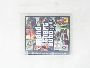 GRAND THEFT AUTO IV 4 SONY PLAY STATION 3 ps3 ITA  ANNO 2008 [GG3-036]