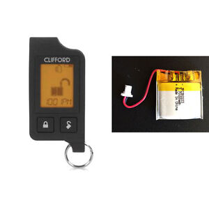Clifford 7756X New Original Replacement Battery