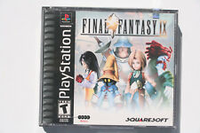 Final Fantasy IX 9 PS1 US NTSC in Good and Complete Condition