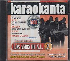 Los Amos de Nuevo Leon Exitos Pistas Musicales & Karaoke New Nuevo