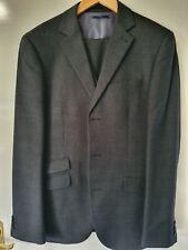Next Black/ Grey Check 3 Piece Suit - Jacket, Trousers & Gilet