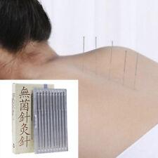 100Pcs/Box Acupuncture Disposable Needle Sterile Needles Single Use AuthentiNWUS