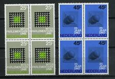 Nederland 1970 IPU / UNO 973-974 blokken v 4 - POSTFRIS cat waarde € 6