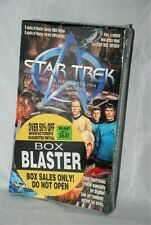 Star Trek Master Series Skybox Trading Cards Box of 12 Packs 1993/1994 Unopened