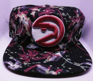 ATLANTA HAWKS  NBA SNAPBACK  GLOW-IN THE DARK SPECKLE CAP/HAT mens