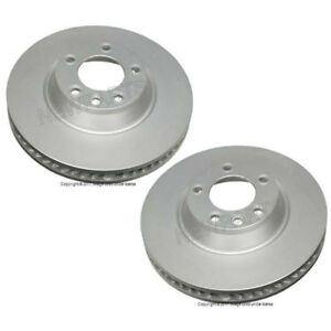 For Porsche Cayenne 350 x 34mm Pair Set of 2 Front Disk Brake Rotors ATE