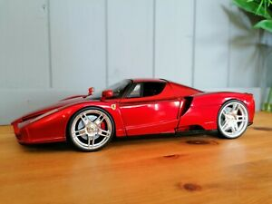 Ferrari Enzo WHIPS Candy Bright red met 1:18, hot wheels rare model