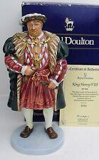 Royal Doulton figure KING HENRY V111 HN3458 Ltd Edt B&C