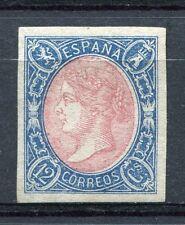 1865.ESPAÑA.EDIFIL 70(*).NUEVO.CERT. GRAUS .CAT 570 €