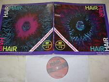 Hair Australien Cast feat. Tully Australie HIPPIE ROCK FOC LP 70s SPIN étiquette