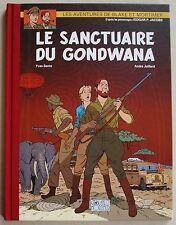 Blake et Mortimer Le Sanctuaire du Gondwana JUILLARD BNP Parisbas 2008 RARETE