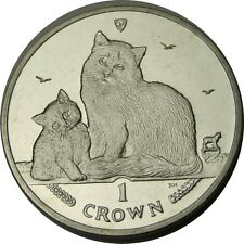 elf Isle of Man IOM 1 Crown 2013 Siberian Cat  Kitten