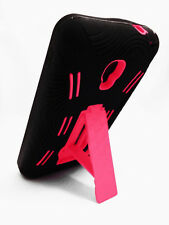 Kickstand Hybrid Case Phone Cover Accessory for LG Optimus F6 D500 MS500 D505