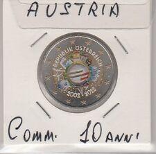 2 euro 2012 COMMEMORATIVO- AUSTRIA -   - smaltato colorato   - FDC
