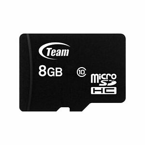 Team Group 8GB Class 10 Micro-SD Memory Card for HTC One C, ST & One SV Mobiles