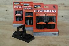 Sure-Set Mouse Trap by Pest-Stop 3 x Twin Packs Easy to use single click to set.