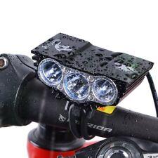 Cree U2 X3 LED MTB Rechargeable Front Bike Lights Bicycle Headlight Headlamp