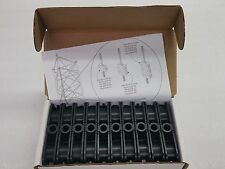 New Box of 10, Commscope 780Dhk Dual Hanger Block for 7/8'' Cell Reach Coax