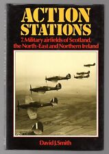 ACTION STATIONS 7 Military Airfields Scotland Northern Ireland RAF 1984 HC BOOK