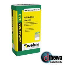 weber.tec 933 (Deitermann HKS) Hohlkehlspachtel & Egalisierspachtel 1x 25kg Sack