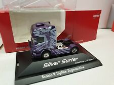 SCANIA R09   Silver Surfer /  ML Transporte   Airbrush by  W. Rosner 110754