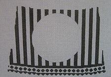 Handpainted Needlepoint Canvas Funda Scully Monogram Night Light FS-10RB