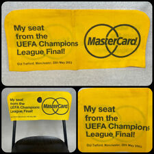 More details for 2003 uefa champions league final ac milan v juventus, old trafford seat cover