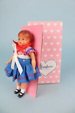 "5"" Wee Patsy Effanbee doll Reproduction re-issue Patriotic costume girl Mib 1998"