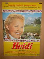 Heidi Gustav Knut Margot Trooger Rudolf Vogel Filmplakat 60x80cm gefaltet