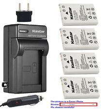 Kastar Battery AC Charger for Nikon EN-EL5 MH-61 & Nikon Coolpix P100 Camera