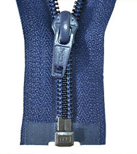 Reißverschluss für Bettwäsche 1 Weg hell grau schließbare Länge 30-200 cm
