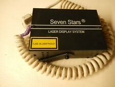 SEVEN STARS LASER Display System M62 Lasershow Party WOW Gosh