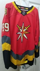 Golden Knights Tuch Red Jersey Size 56