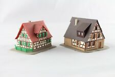Kibri 6822 (6406) Timber-Frame Houses with Garden Z Gauge (Z307-1)