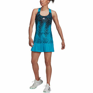 Adidas Primeblue Sonic Aqua Womens Tennis Dress