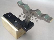 Miniatura formatura SHELL GIOCO METALLO FORMATURA Dapping Finitura a Specchio + supporto / Holder