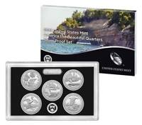 2018 America The Beautiful National Parks Quarter SILVER Proof Set with COA